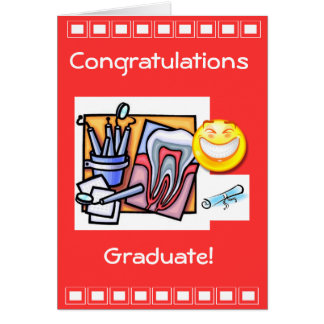 Dental Industry Graduation Card