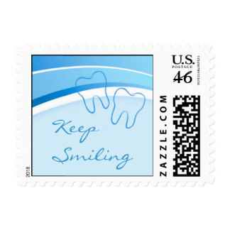Dental Keep Smiling Stamp