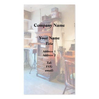 Dental Lab WithLab Coat Business Card