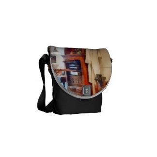 Dental Lab WithLab Coat Messenger Bags