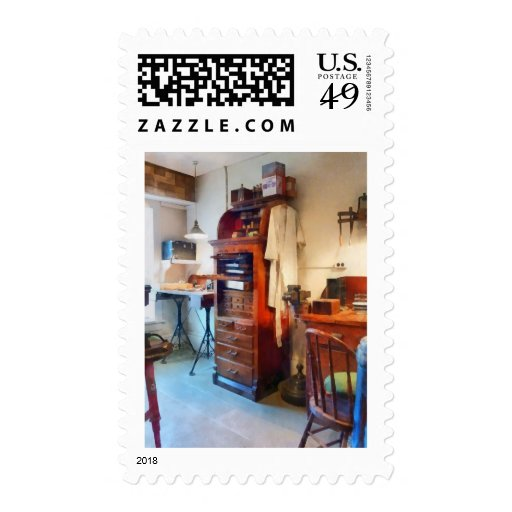 Dental Lab WithLab Coat Stamp