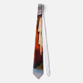 Dental Lab WithLab Coat Tie