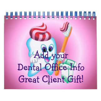 Dental Office Calendars Customers Gift