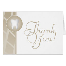 Dental Office Thank You Card