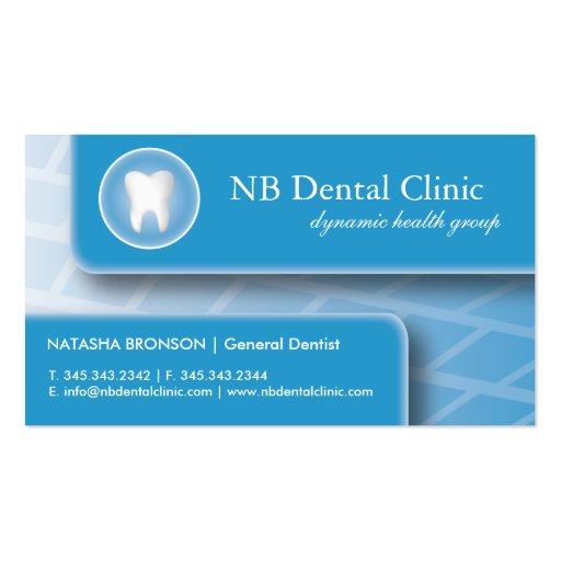 Dental / Orthopedist Business Cards