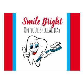 Dental Patient Birthday Postcard
