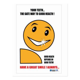 Dental practice Promotional gifts Postcard
