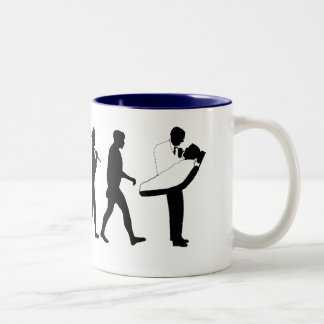 Dental practices and dental surgeons gear Two-Tone coffee mug