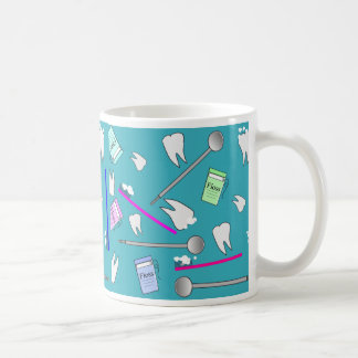 Dental Profession Tools Design Coffee Mug