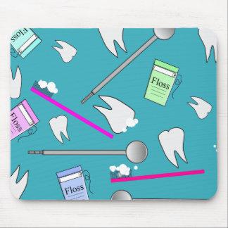 Dental Profession Tools Design Mouse Pad