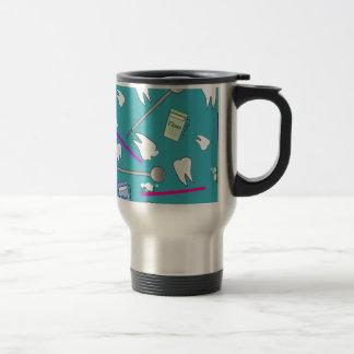 Dental Profession Tools Design Travel Mug