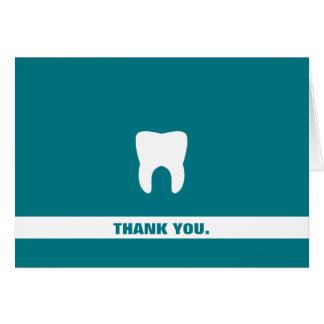 Dental Professional Custom Thank You Molar Card