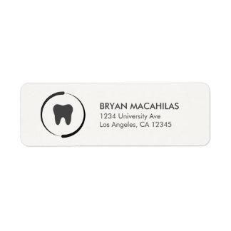 Dental Return Address Label