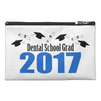 Dental School Grad 2017 Caps And Diplomas (Blue) Travel Accessory Bag
