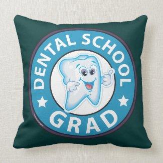 Dental School Graduation Pillow
