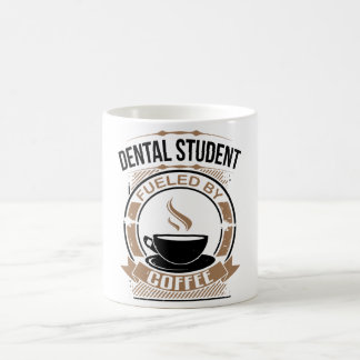 Dental Student Fueled By Coffee Coffee Mug