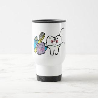 Dental Stuff for Dentist Day March 6th Travel Mug