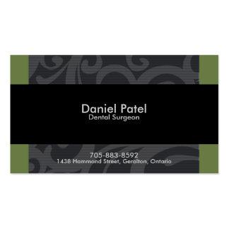 Dental Surgeon Business Card - Professional