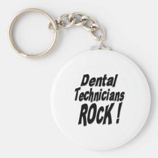 Dental Technicians Rock! Keychain