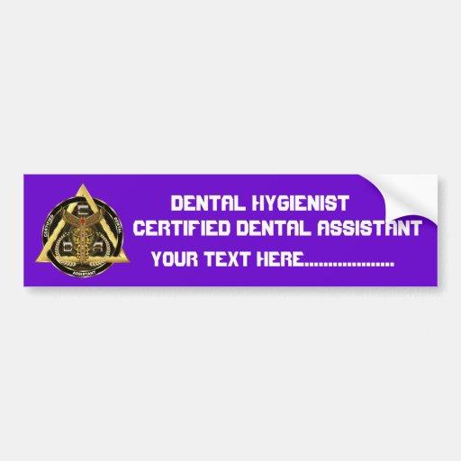Dental toda la opinión de los estilos de CDA comen Pegatina Para Auto