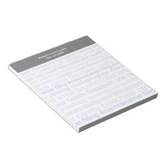 Dental Word List Notepad