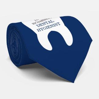 Dental Worker Custom Name   Title Tie