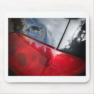 Dented tailgate mouse pad
