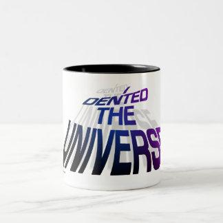 Denting Universe space warp Mug