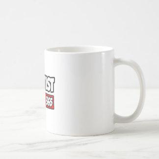 Dentist 24-7-365 classic white coffee mug