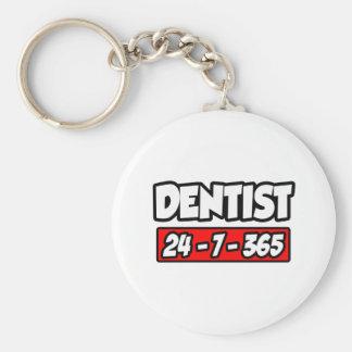 Dentist 24-7-365 keychains