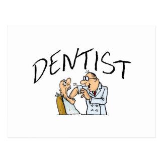 Dentist 2 postcard