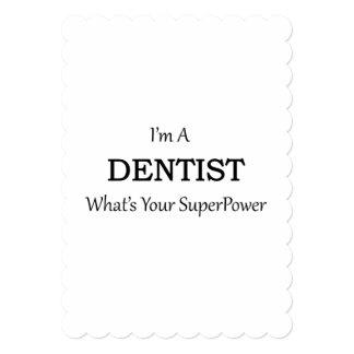 DENTIST 5X7 PAPER INVITATION CARD