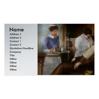 Dentist - An incisive decision - 1917 Business Card