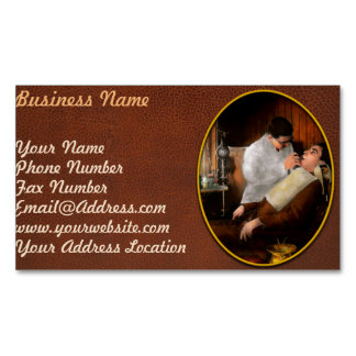 Dentist - An incisive decision - 1917 Business Card Magnet