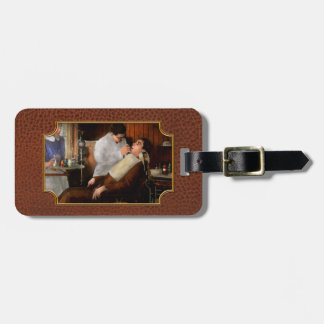 Dentist - An incisive decision - 1917 Tag For Luggage