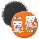 Dentist and Dental Hygienist Refrigerator Magnets