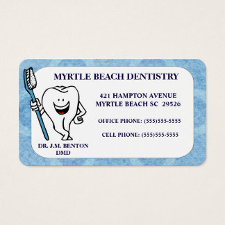 Dentist Appointment and  Business Card