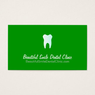 Dentist Appointment Cards- Color changeable Business Card
