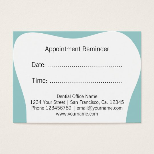 Dental Business Cards  Templates  Zazzle