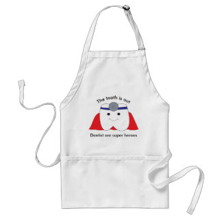 Dentist Are Super Heroes Customize Adult Apron