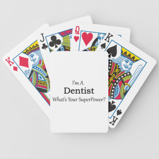 Dentist Bicycle Playing Cards