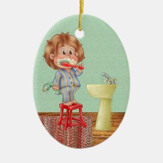 Dentist - Brush Your Teeth - SRF Ceramic Ornament