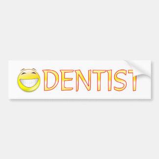 Dentist Car Bumper Sticker