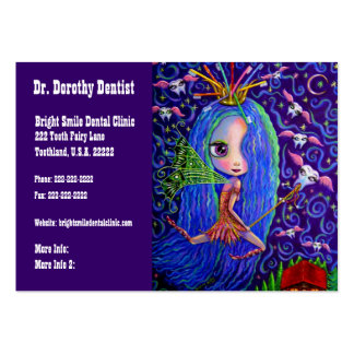 Dentist Business and Appointments Card Tooth Fairy Large Business Cards (Pack Of 100)