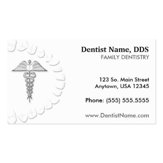 Dentist Business Appointment Card Business Cards