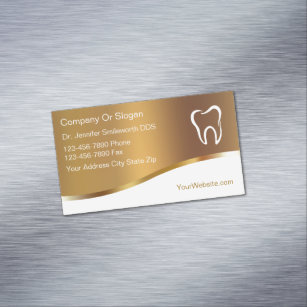 Magnetic Business Cards Zazzle