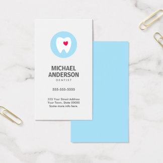 Dentist business card,  modern and minimal dental business card