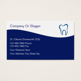 Dental equipment business cards templates zazzle dentist business cards reheart Image collections