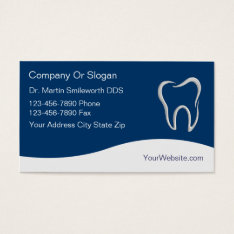Dentist Business Cards at Zazzle