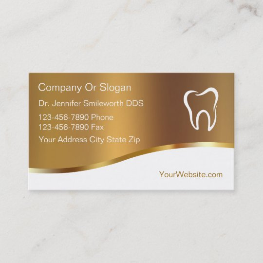 Dentist business cards zazzle dentist business cards reheart Choice Image